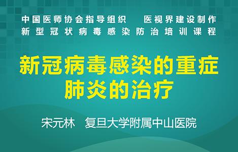 新冠病毒感染的重症肺炎的治疗——宋元林
